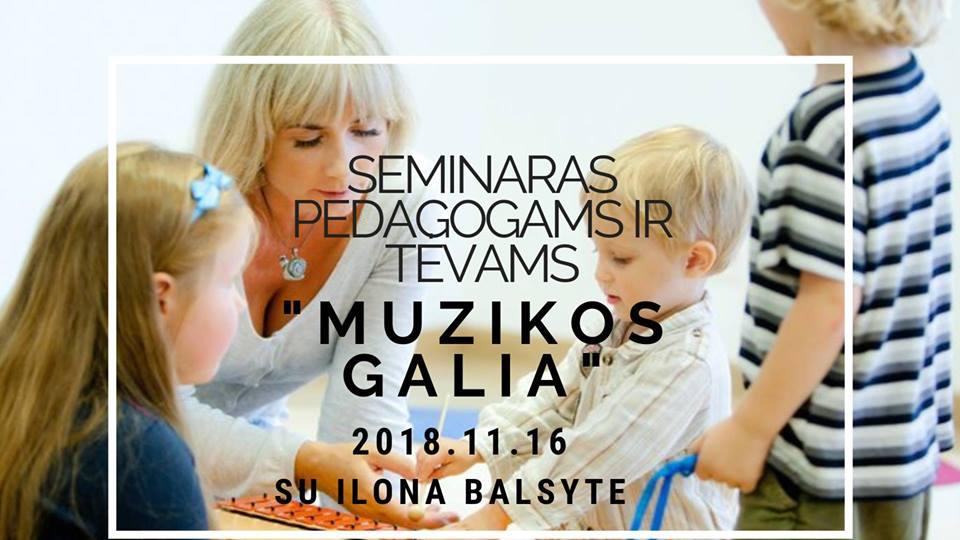 seminaras su Ilona Balsyte